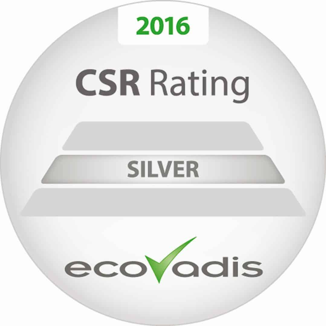 Denios erhält Ecovadis Silverrating