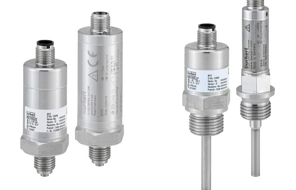 Digitale Druck- und Temperatursensoren