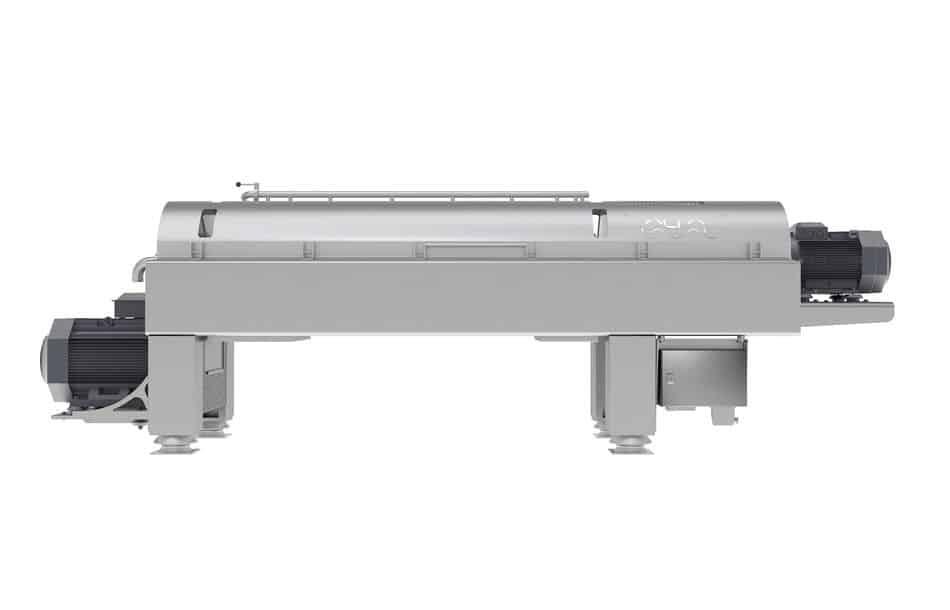 Dekanter-Zentrifuge im Hygienic Design