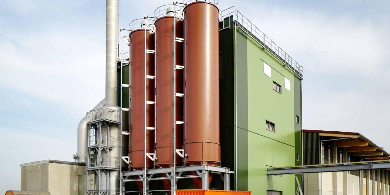 Anlage produziert Dünger aus recycelter Klärschlammasche