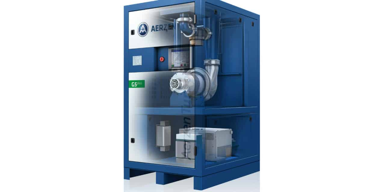 Turbokompressor überzeugt mit kleinem Footprint
