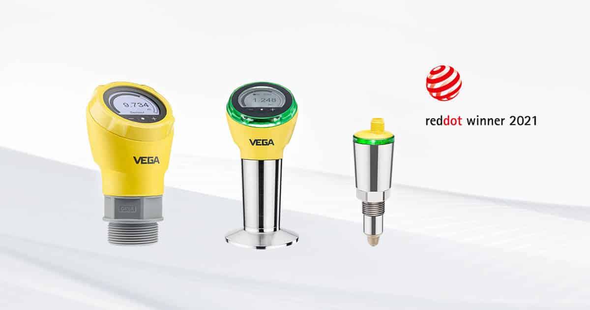 Sensoren von Vega bekommen Red Dot Design Award