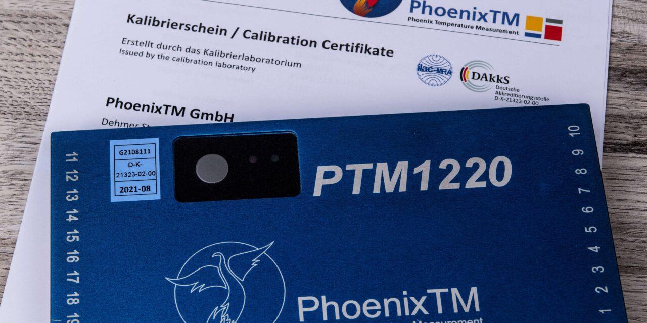 PhoenixTM GmbH erhält DAkkS-Akkreditierung für Datenlogger