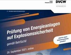 Prüfung von Energieanlagen auf Explosionssicherheit @ Online